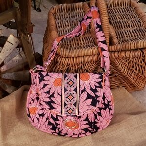 Vera Bradley Love Me... Saddle Up Shoulder Bag